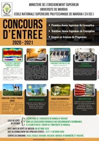 CONCOURS ENSPM 2021